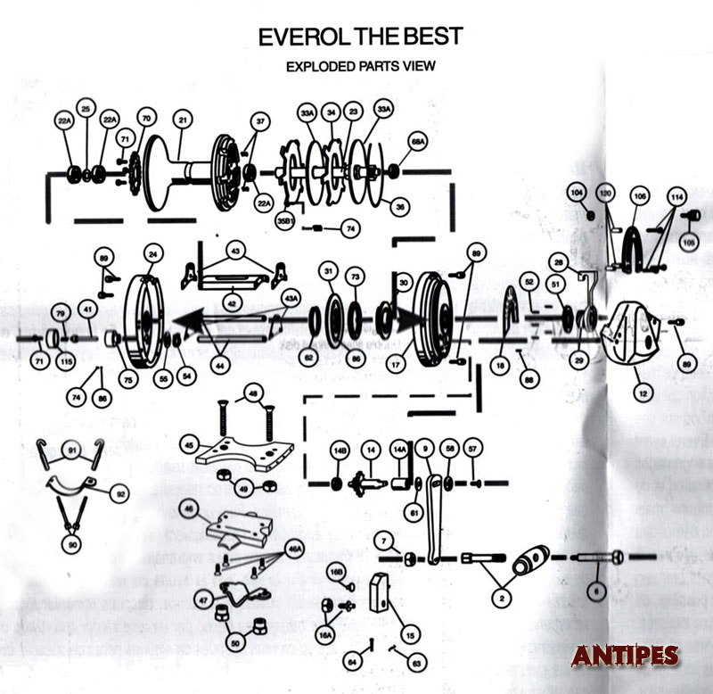 Everol - The Best - parts list