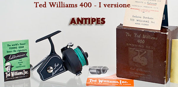ZANGI - Ted Williams 400 prima versione