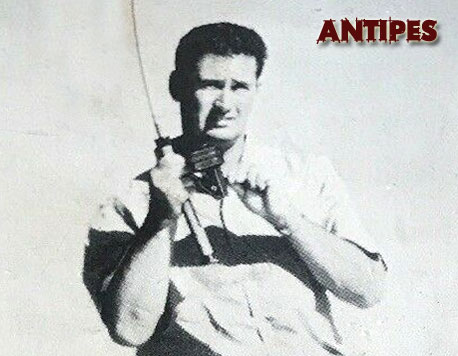 Ted Williams a pesca con uno mulinello Zangi - T.W. 400